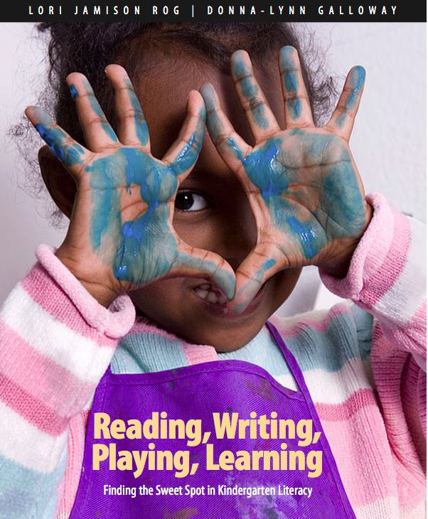 Reading Writing Playing Learning Cover