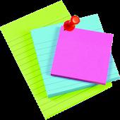 3 sticky notes