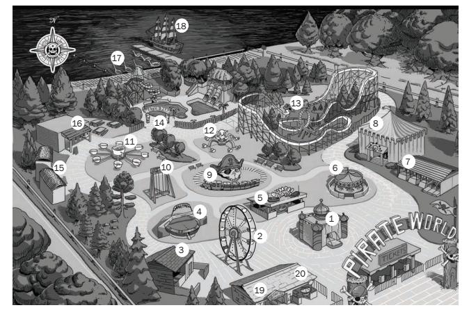 amusement-park-map-from-roller-coaster