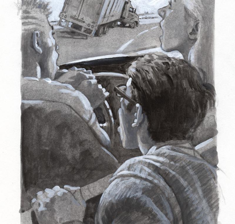 Street Racer Illustration